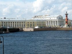 sankt petersburg river view