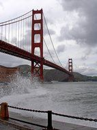 amazing golden gate bridge san francisco usa