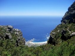 Panorama view of Camps Bay
