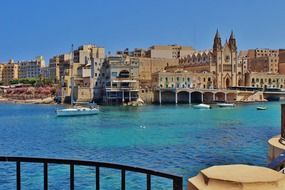 malta architecture and port