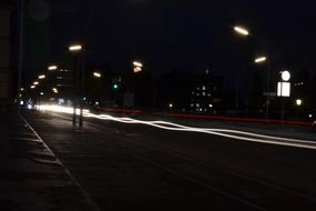 hamburg night road