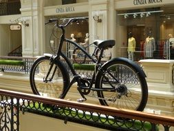 bike in shopping centre russia moscow