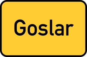 goslar city limits sign