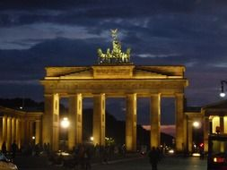 extraordinarily beautiful brandenburg gate
