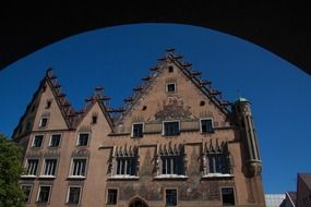Gothic building in Ulm