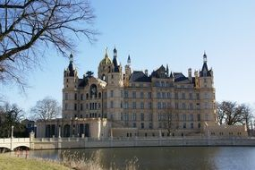 castle in Schwerin, Germany