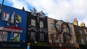 camden town graffiti london
