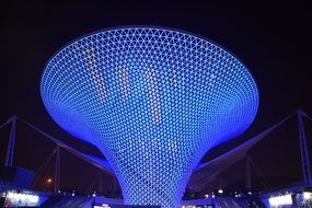 blue funnel exposition in Shanghai