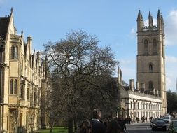 oxford building in england
