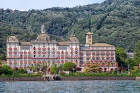 Stresa is a picturesque landscape of Italy