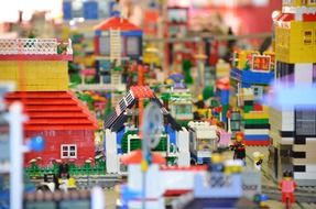 city of lego blocks