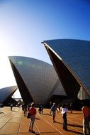 Opera House building in Sydney