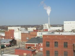 industrial plant panorama