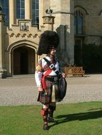 scotland bag piper