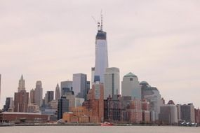 panorama of New York City, America