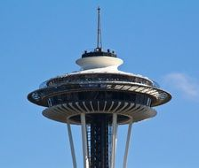 modern Seattle space needle