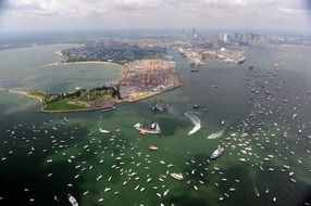 Boston, Massachusetts Bay Harbor