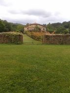 cantabria green landscape house