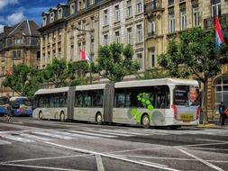 luxembourg city bus