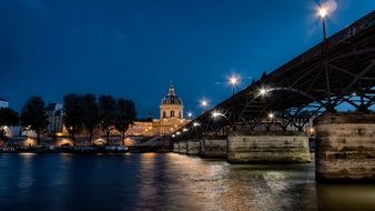 seine river bridge
