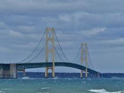 extraordinarily beautiful bridge mackinac