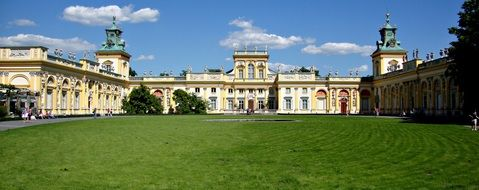 wilan C3 B3w poland the palace monument