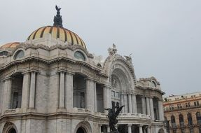 marble palace in Mexico