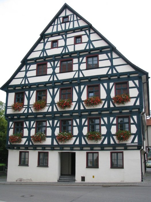 Fachwerkhaus is a wooden frame building