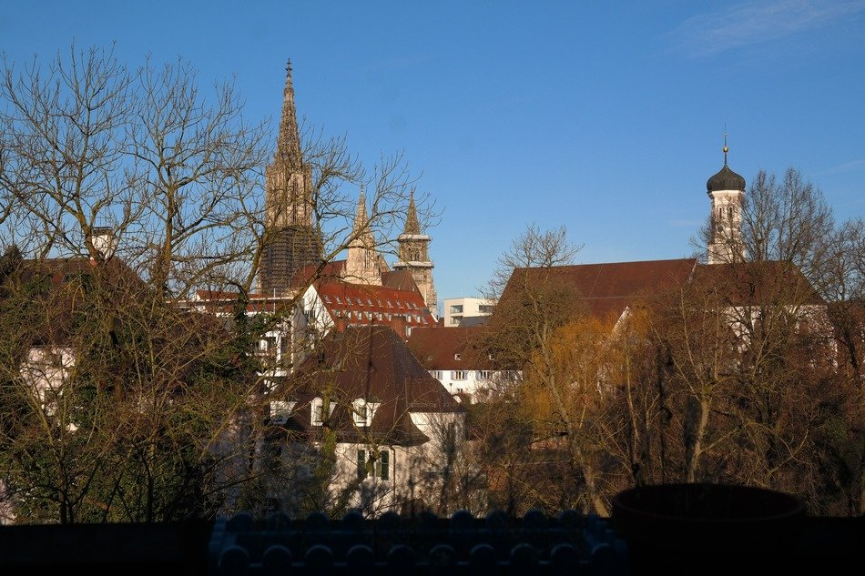 ulm cathedral, city view
