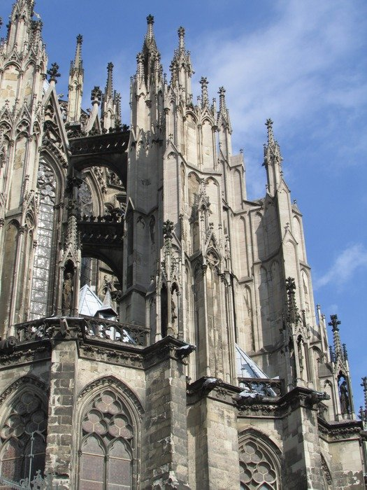 architecture of Cologne Cathedral