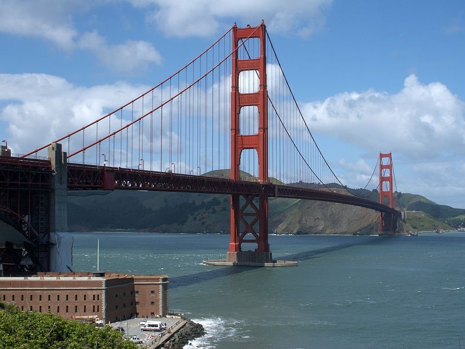 golden gate bridge california usa