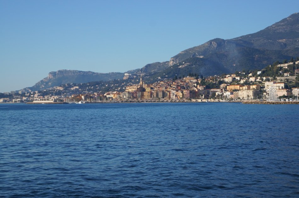 menton in French riviera