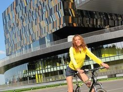 bike girl skolkovo sports moscow