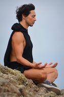 meditation man zen religion buddha peaceful yoga