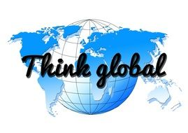 social media networks ball think global