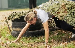 soldier obstacle military course