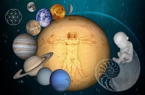 clipart of the space and planets
