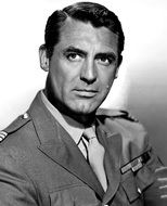 portrait of actor Cary Grant