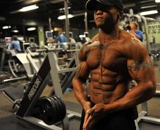 tattooed bodybuilder