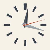 Blank Analog Clock Face free image