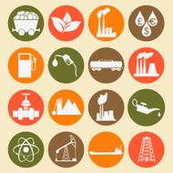 Set 16 fuel and energy icons N4