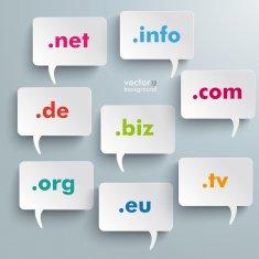 Domain Speech Bubbles free image