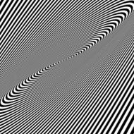 Pattern with optical illusion Black and white background N9