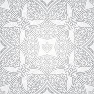 Vector seamless pattern in Eastern style N8