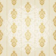 Vector seamless pattern in Eastern style N17