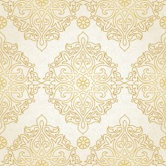 Vector seamless pattern in Eastern style N5