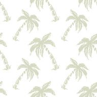 Seamless pattern palm trees N2