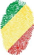 congo flag fingerprint