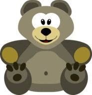 grey toy teddy bear