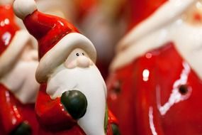 ceramic santa claus figures